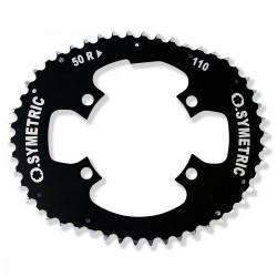 Shimano 4-Loch - 50 Zähne - 4.0mm - Lochkreis Ø 110mm
