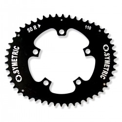 Campagnolo - Compact - 50 Zähne - 4mm - Lochkreis Ø 110mm