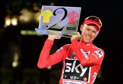 Chris Froome gewinnt die Vuelta 2017