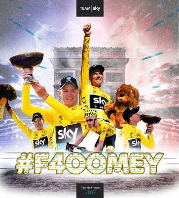4. Sieg für Chris Froome