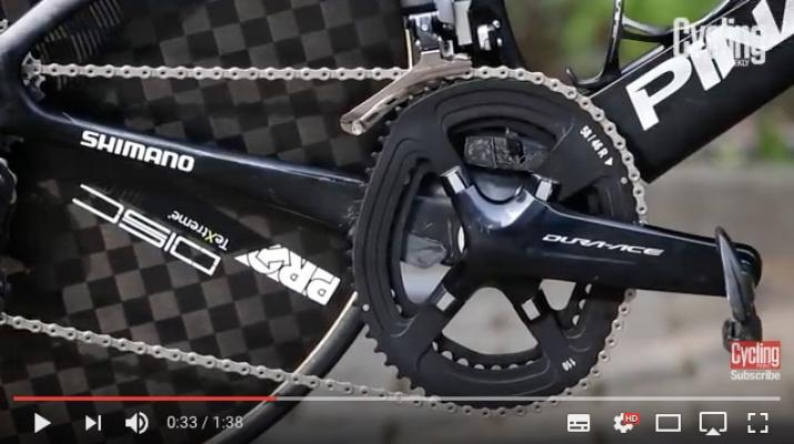 Chris Froome`s Pinarello Aero-Bike