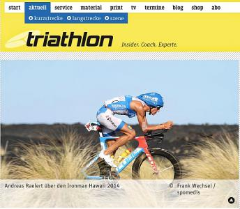 Andreas Raelert im Interview nach dem IRONMAN Hawaii 2014